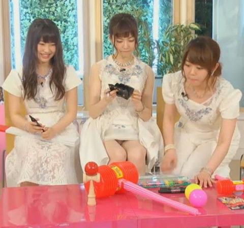 【エロ放送事故画像】アイドル達にのやってしまった事故ww 01