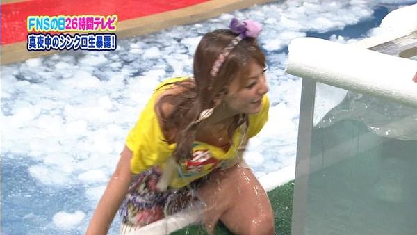 【エロ放送事故画像】アイドル達にのやってしまった事故ww 14