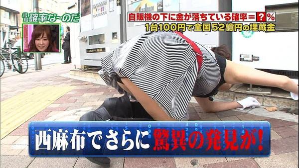 【放送事故エロ画像】地上波放送で女の子たちが完全にやってしまっているハプニング画像を集めてみました 05