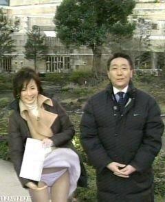 【放送事故エロ画像】地上波放送で芸能人たちが完全にやってしまっているハプニング画像を集めてみた結果ww 11