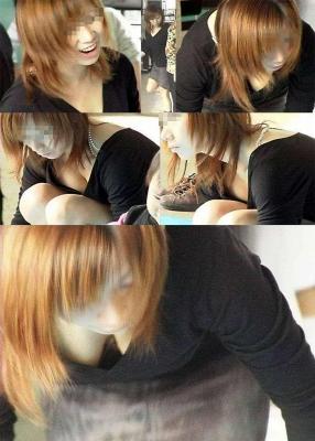 【エロ画像】女の子たちのエロ谷間といおっぱいハプニング画像集めてみましたww 08