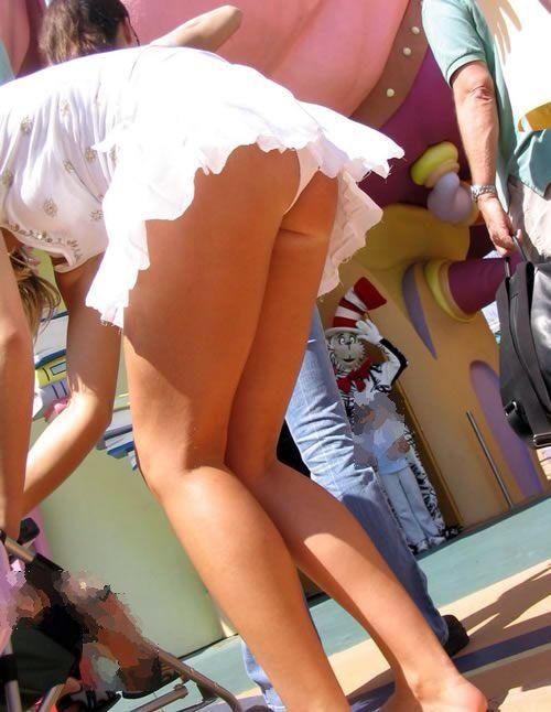【エロ画像】エロいパンチラが見たくて見たくて探して集めてみましたww「ティーバッグがいい!」 06