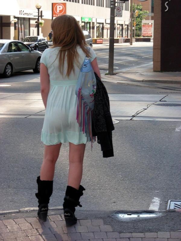 【スケスケ画像】着ている女の子達は気ずいていないスケスケハプニング画像を集めてみましたwww 09