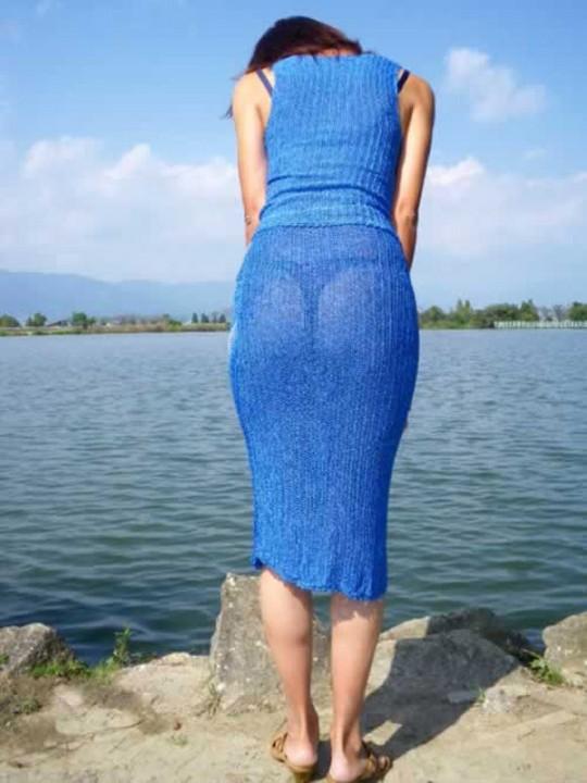 【スケスケ画像】世界中のスケスケのいろんな女の子達のいろんなパターンのハプニングを集めてみましたww 06
