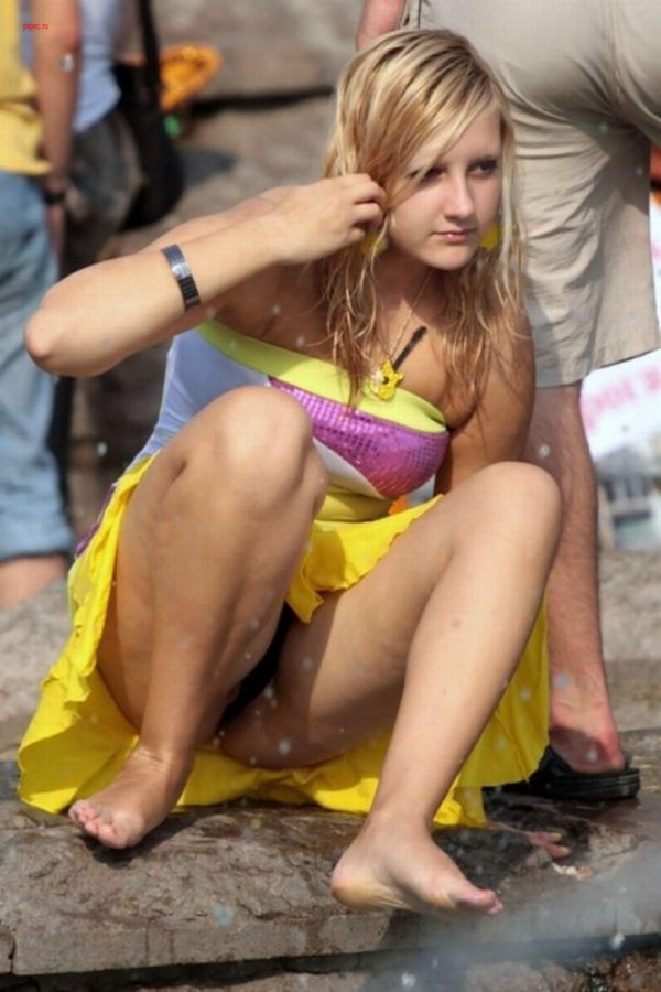 【ハプニング画像】いろいろやっちゃっている女の子達のハプニング画像を集めてみましたww 18