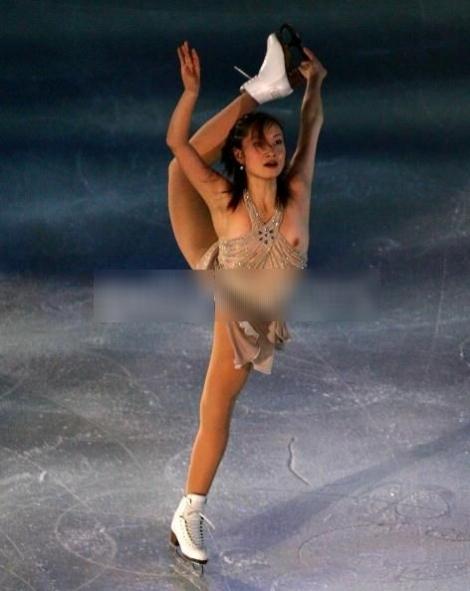 【ハプニング画像】女子アスリートが真剣にプレーしてるがゆえに見えてしまったもろもろ画像ww 17