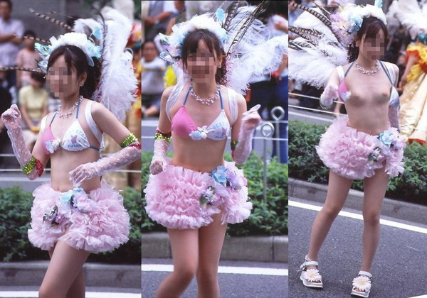 【ハプニング画像】祭で、イベントで、街中で、みなさんポロリとやっちゃいましたねぇww 03