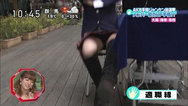 【放送事故画像】テレビに映るちらリズム、まさしく放送事故w 14