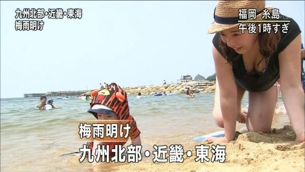 【放送事故画像】カメラの前で自分のパイオツ強調する女達w 17