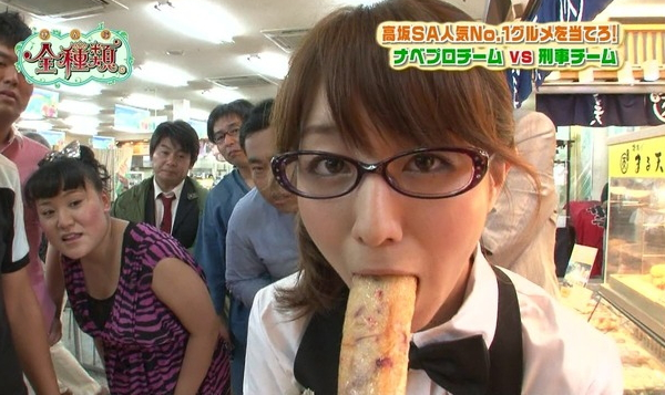 【放送事故画像】カメラの前で舐めたり咥えたり!エロい顔な満載ww