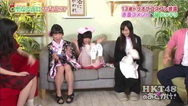 【放送事故画像】テレビにがっつり映し出されたパンツがこちらw 06