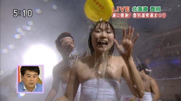 【放送事故画像】テレビに晒されたオッパイの数々をご覧あれ!