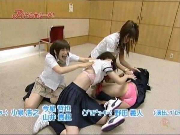 【放送事故画像】自分の恥ずかしい姿をテレビに流される女達!