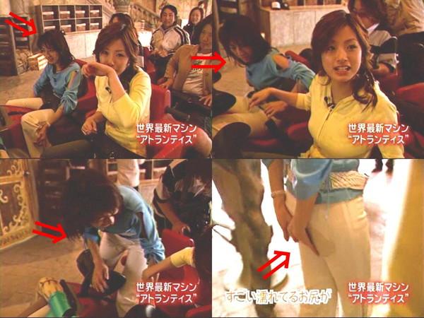 【放送事故画像】自分の恥ずかしい姿をテレビに流される女達! 08