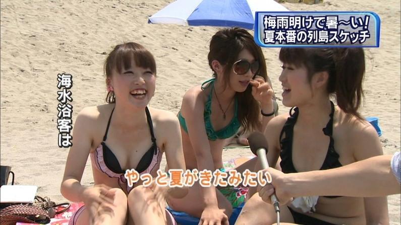 【水着キャプ画像】今年の夏はどんな素人美女の水着が見れるか楽しみだwwww 15