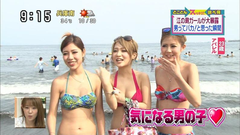 【水着キャプ画像】今年の夏はどんな素人美女の水着が見れるか楽しみだwwww 16