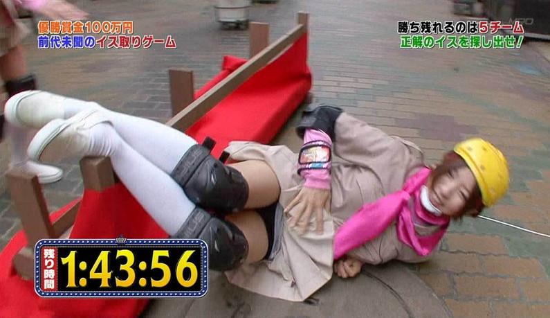 【パンチラキャプ画像】有名人のパンツがやたら滅多に映されてる最近のテレビwww 06