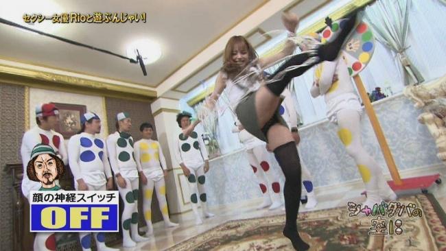 【パンチラキャプ画像】有名人のパンツがやたら滅多に映されてる最近のテレビwww 19