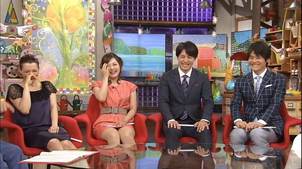 【パンチラキャプ画像】有名人のパンツがやたら滅多に映されてる最近のテレビwww 24