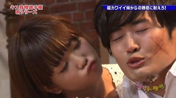 【お宝キス画像】見てるだけで興奮してくるアイドルや女優のキスシーン!! 11