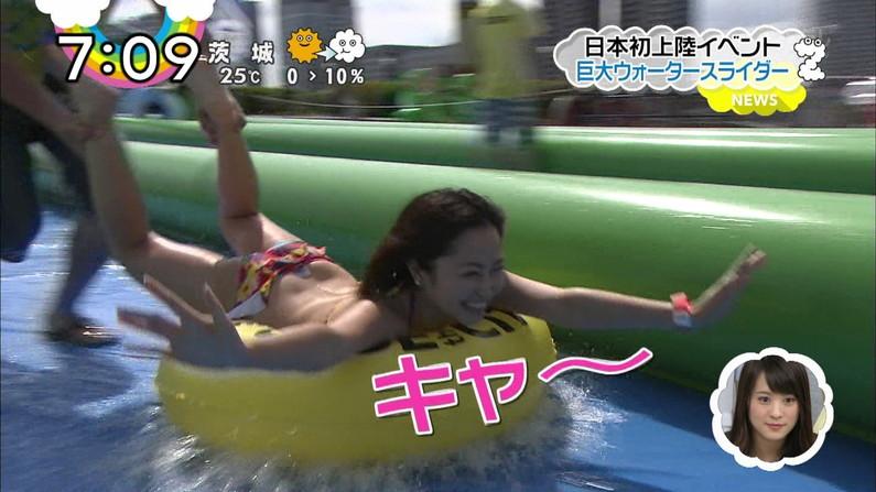 【お尻キャプ画像】AKB矢倉楓子がテレビでハンケツ晒してしまう放送事故発生!!!!!! 13