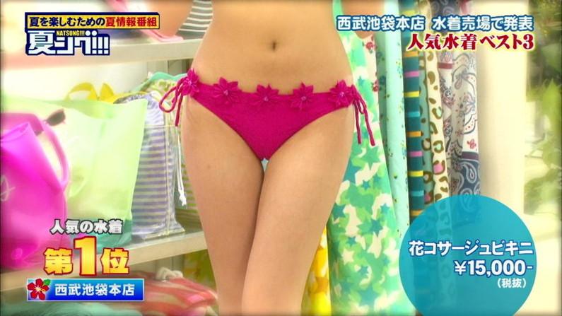 【マン筋キャプ画像】食い込み過ぎてマ○コの筋がくっきり、恥ずかしい放送事故www 13