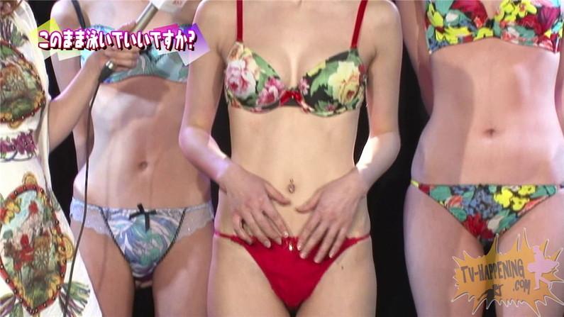 【お宝エロ画像】バコバコTVの「オッパイエクササイズ」とか言うコーナーでもろにハミマンするハプニングが!! 22