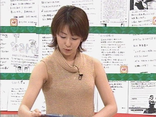 【脇汗キャプ画像】この時期女性タレントにとって一番嫌な放送事故がこちら!! 14