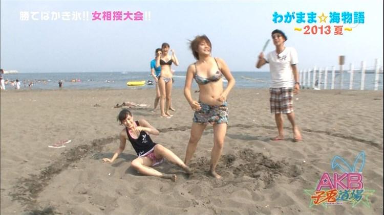 【放送事故画像】女性タレント達の股間をピックアップ!!これって映ってはいけないものまで映ってない?ww 16