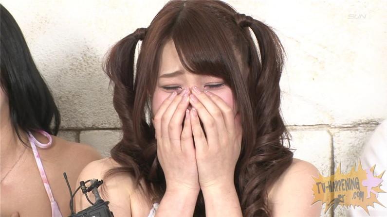 【お宝エロ画像】バコバコTVの犯人当てゲームで美女が脱ぎまくる!?一体どこまで脱ぐんだwww 65