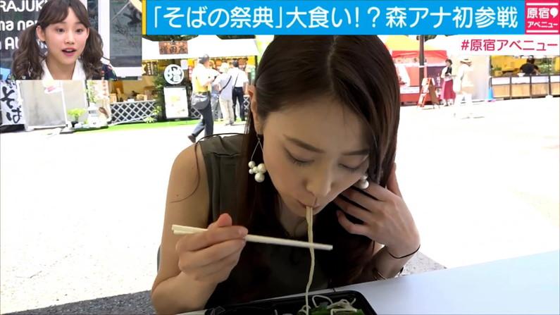【擬似フェラ画像】エロい顔してカメラの前で食レポしてるタレント達に思わず股間が反応www 02