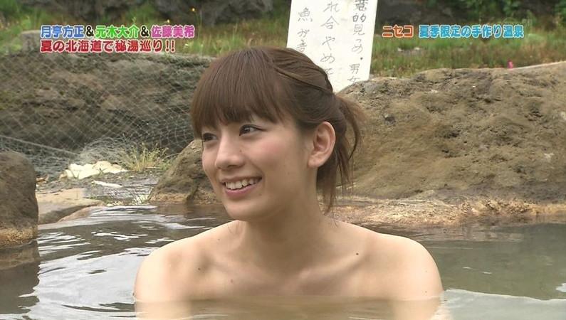 【温泉キャプ画像】温泉とかでこの格好されると物凄くオッパイ見たくてたまらなくなるよなwww 18