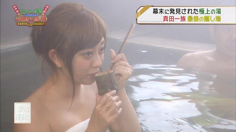 【温泉キャプ画像】温泉とかでこの格好されると物凄くオッパイ見たくてたまらなくなるよなwww 23