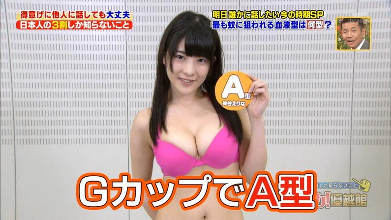 【水着キャプ画像】今年もそろそろこの時期がやって来ました!テレビで紹介、水着美女のオッパイwww 06