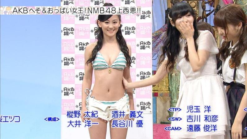 【水着キャプ画像】今年もそろそろこの時期がやって来ました!テレビで紹介、水着美女のオッパイwww 11