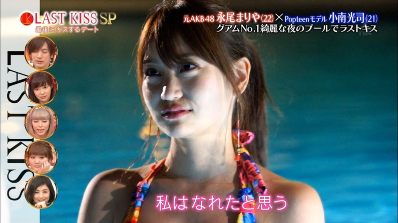 【水着キャプ画像】今年もそろそろこの時期がやって来ました!テレビで紹介、水着美女のオッパイwww 24