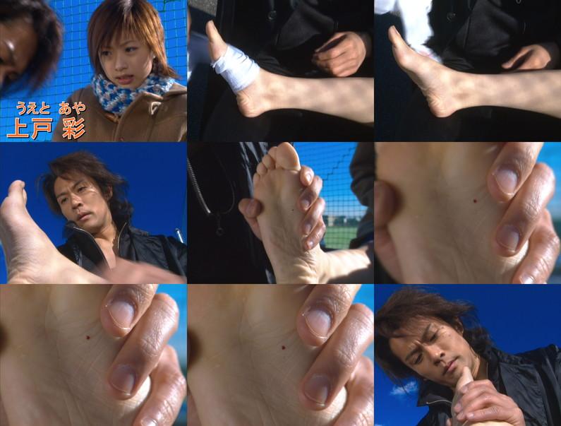 【足裏キャプ画像】フェチの男にはたまらないズリネタ!芸能人たちの臭そうな足裏だぞwww 14