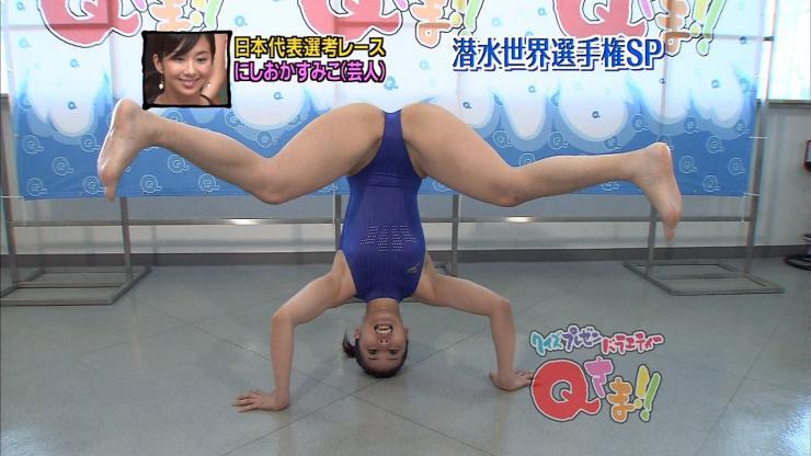 【放送事故画像】テレビでお股クパーしてマンコ注意な女性芸能人達wwww 12