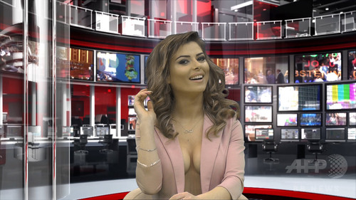 【海外放送事故画像】海外テレビのエロ放送が過激すぎて放送事故連発www 14