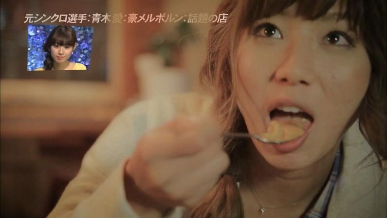 【擬似フェラ画像】完全に狙ってるだろと思うほどエロい顔しながら食レポする女達www 03