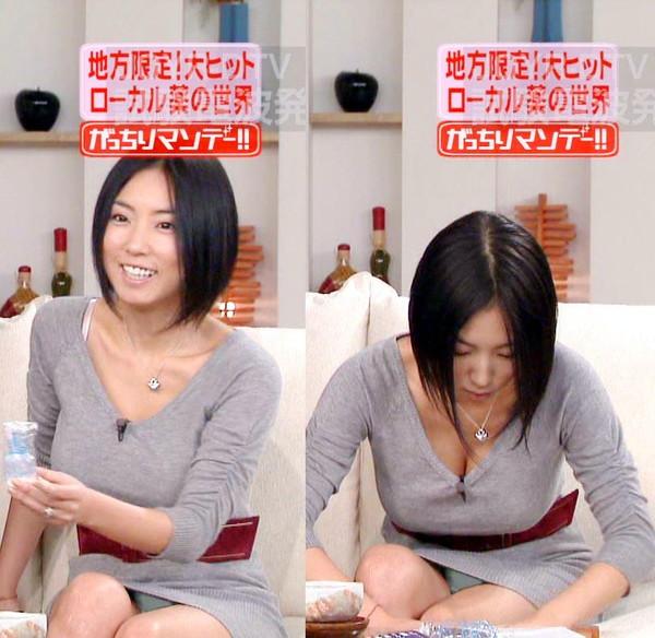 【放送事故画像】TVでパンツが見えてる?んなアホなww見えてるじゃない!! 01