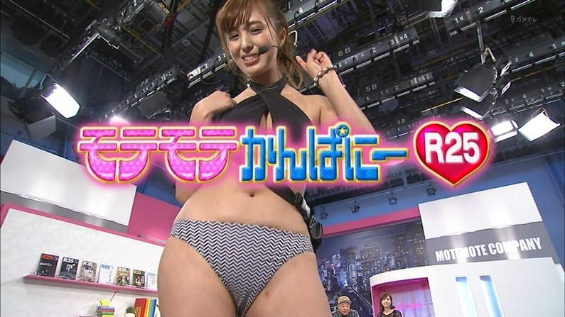 【おへそキャプ画像】テレビに映る美女のおへそが可愛くてイヤラシイ件www 09