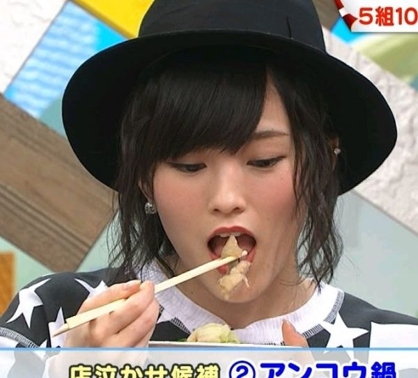【擬似フェラ画像】いやらしいフェラ顔で食レポ!これは欲求不満の表れからなのか?ww 18
