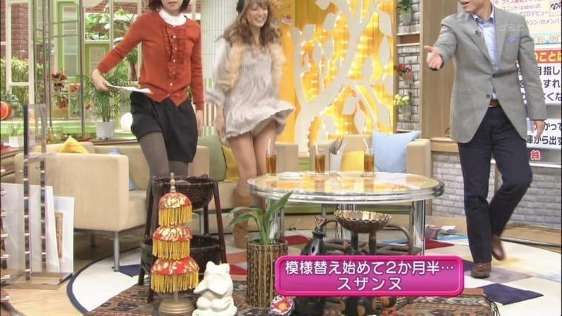 【放送事故画像】テレビでパンチラの期待値が高めな女性タレント達ww