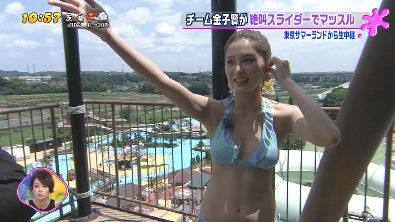 【水着キャプ画像】夏本番!こぞってテレビでも水着美女を紹介し始めましたよwww 10