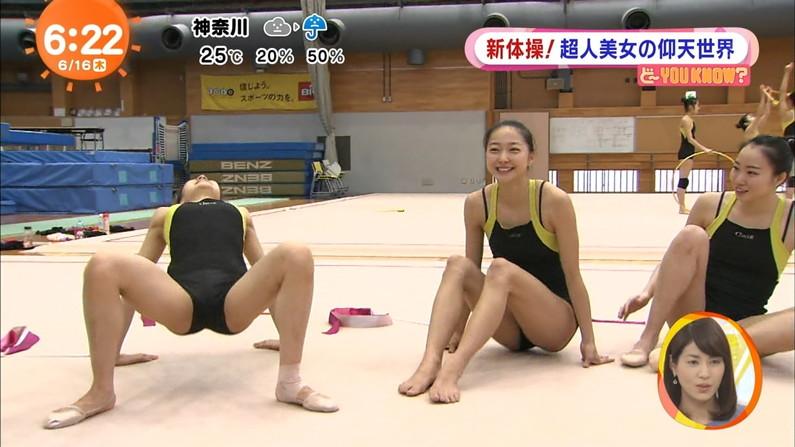 【開脚キャプ画像】己の股間をテレビで晒す変態女達がこちら!! 17