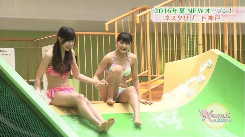 【開脚キャプ画像】己の股間をテレビで晒す変態女達がこちら!! 21