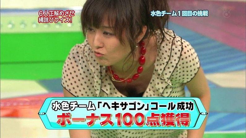 【谷間キャプ画像】テレビで胸ちら連発させる女達の乳房がはっきり映されるww 11