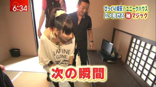 【放送事故画像】テレビでオッパイばっかり映すから、勃起してたまらん!