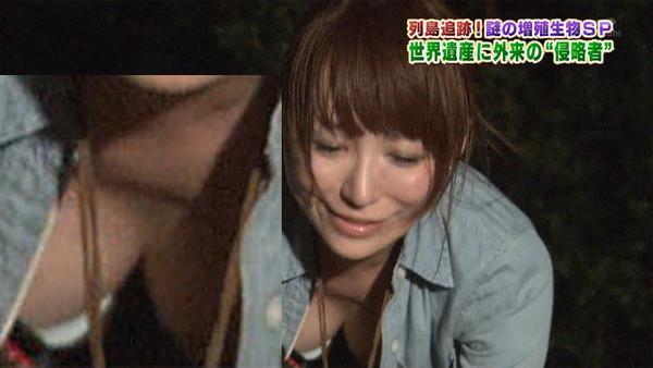 【放送事故画像】テレビでオッパイばっかり映すから、勃起してたまらん! 01